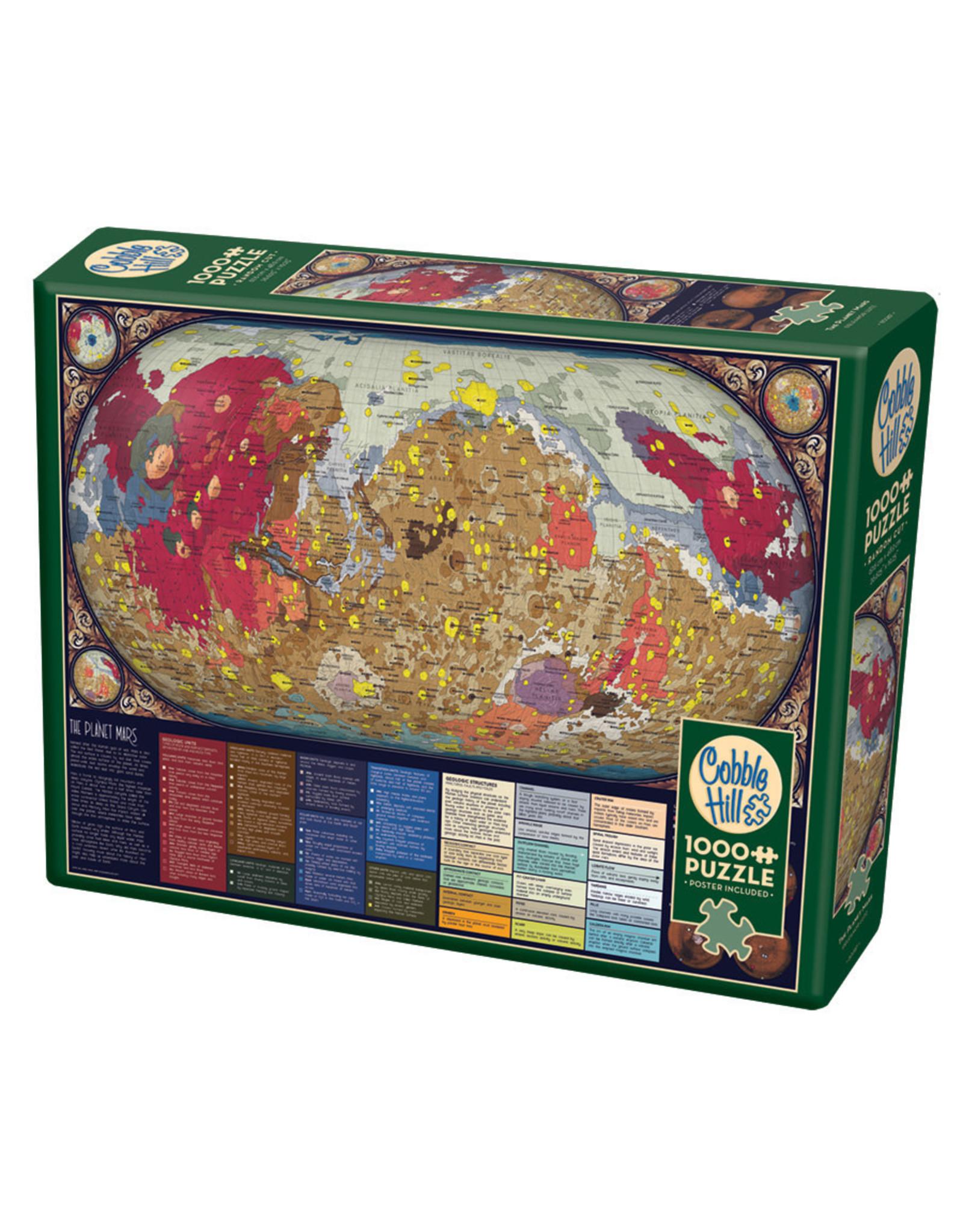 Cobble Hill 1000 pcs. The Planet Mars Puzzle