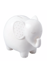 Pearhead Ceramic Elephant Piggy Bank
