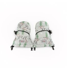 Stonz Stonz Waterproof Baby Mittz, Magic Deer Print Green/Grey