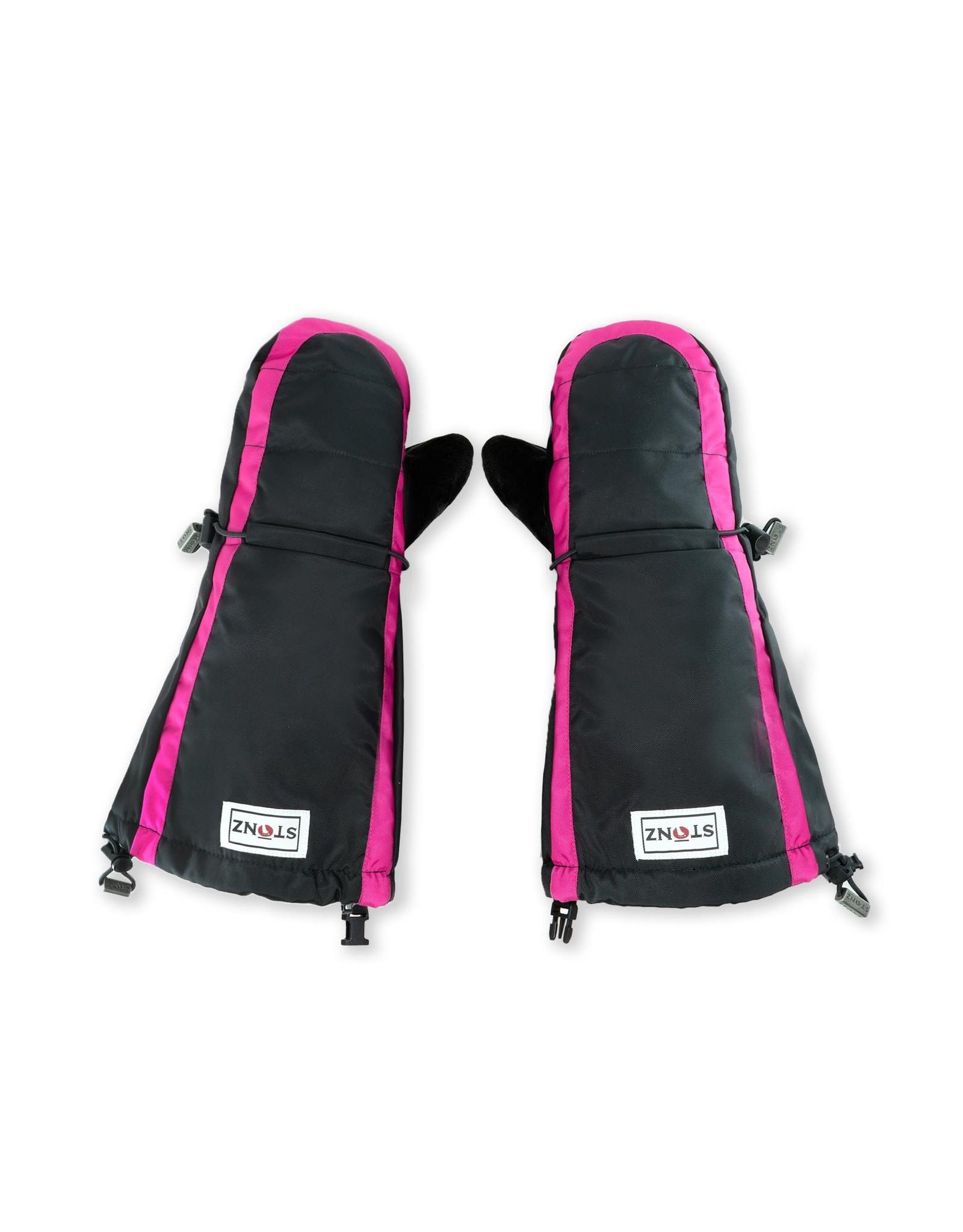 Stonz Stonz Waterproof Youth Mittz Pink/Black