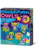 4M Glow Owls: Mould & Paint