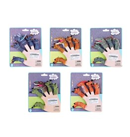 Playwell Dinosaur Feet Finger Puppets