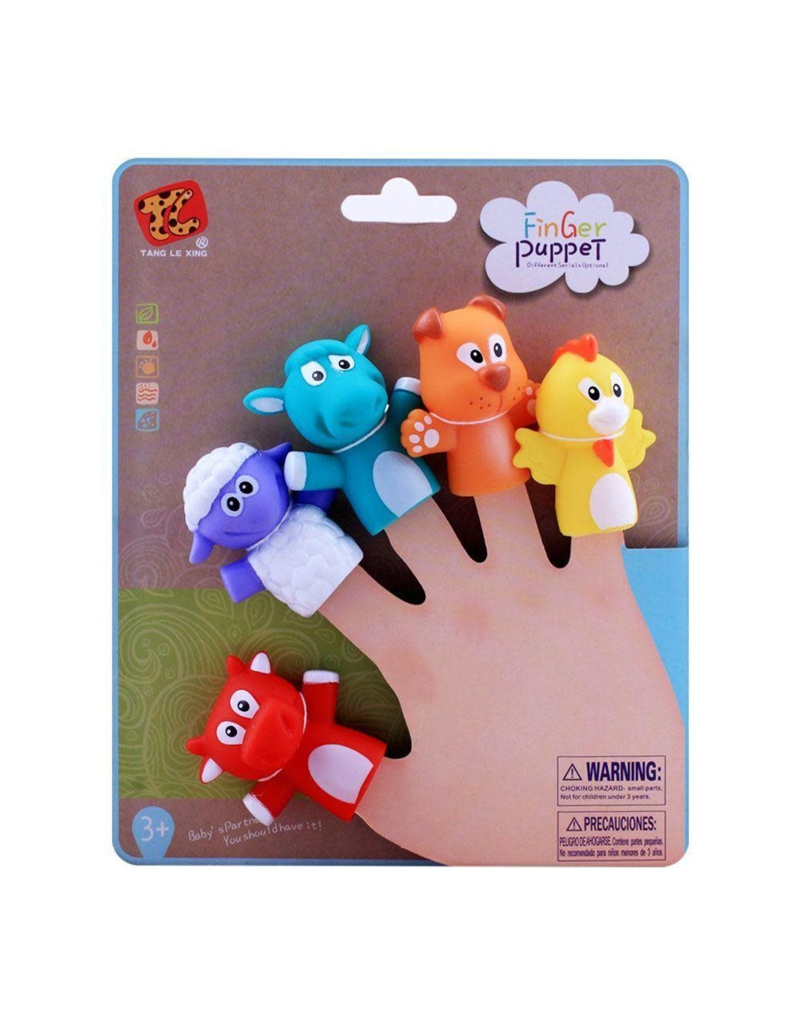 Playwell Animals Finger Puppets