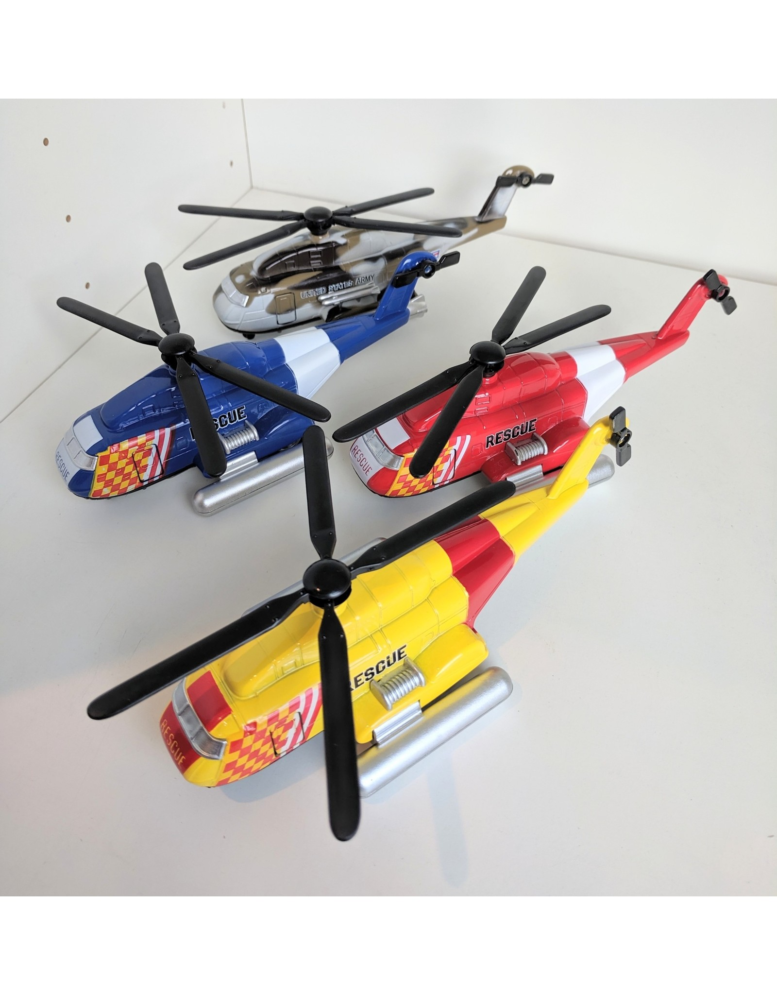 Playwell Pull Back Helicopter