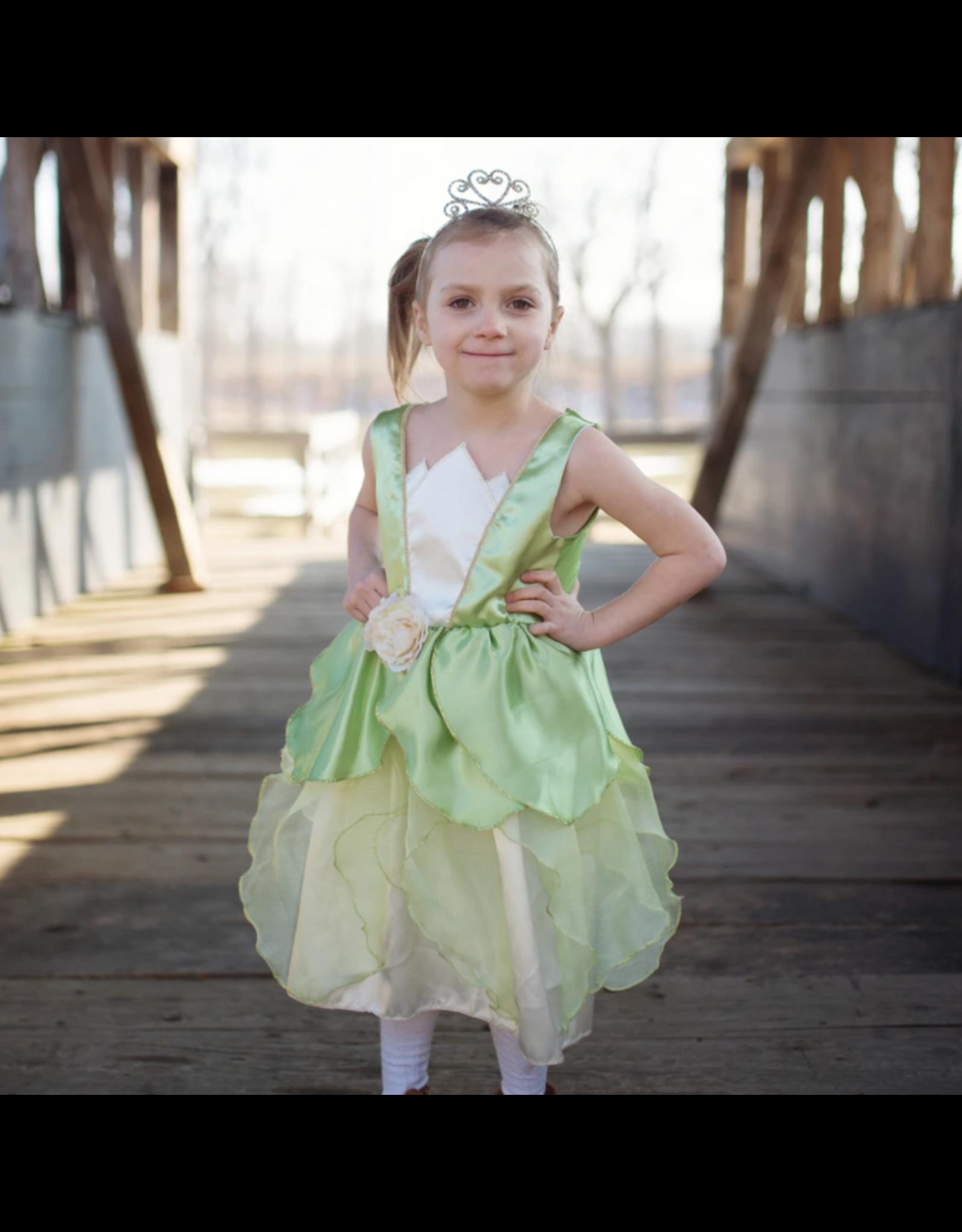 Great Pretenders Frog Princess Dress, Green,  Size 5-6