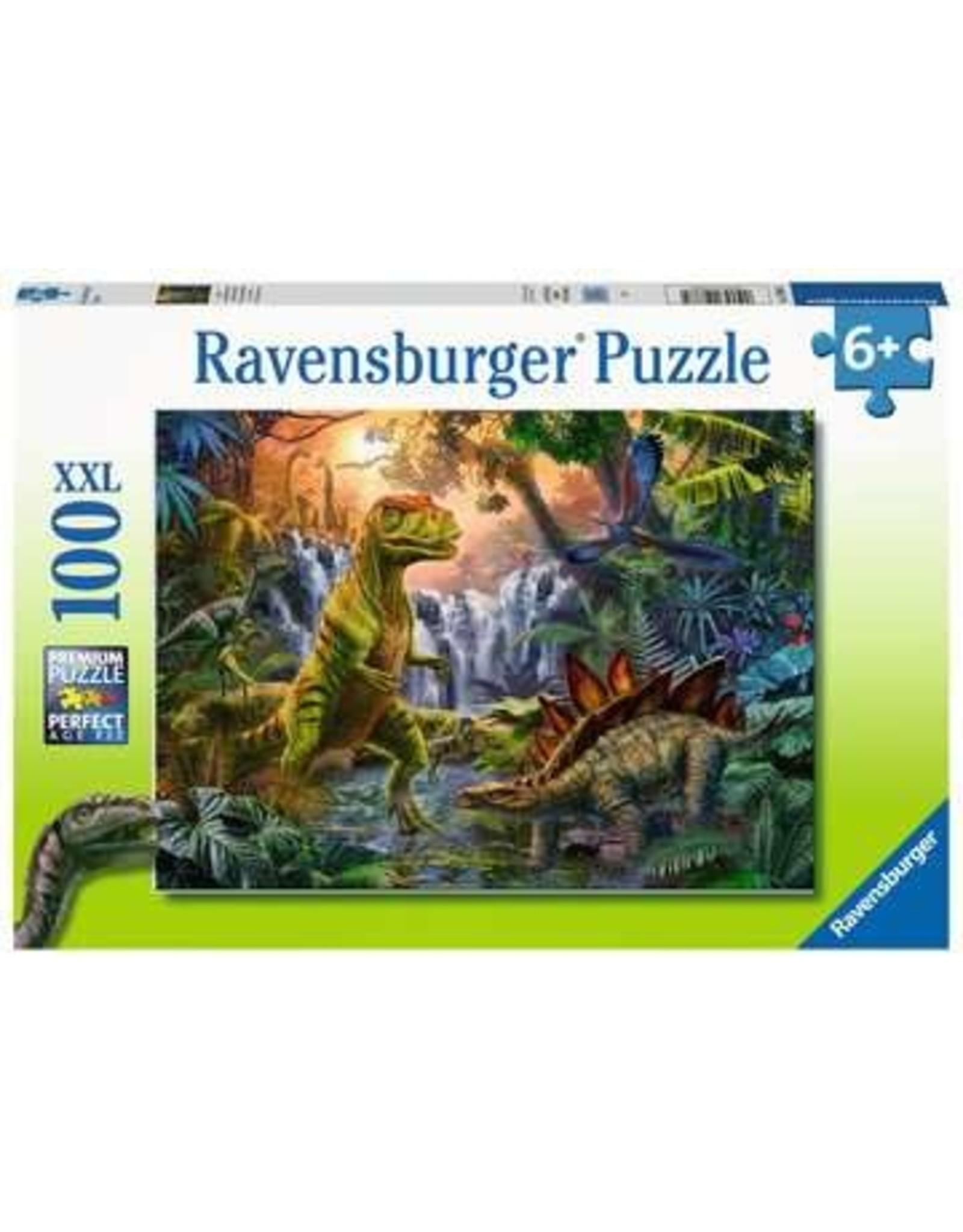 Ravensburger 100 pcs. Dinosaurs Oasis Puzzle