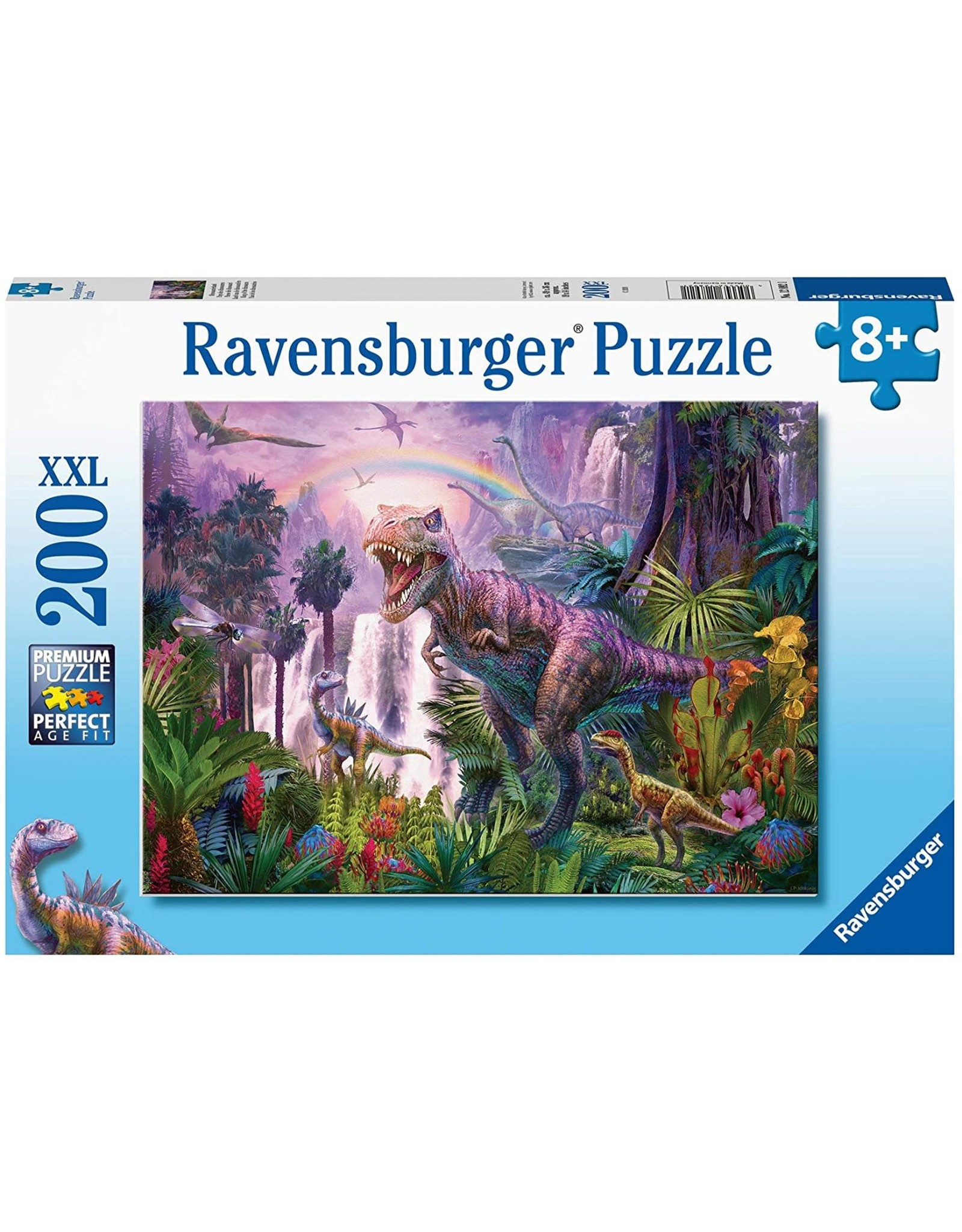 Ravensburger 200 pcs. King of the Dinosaurs Puzzle