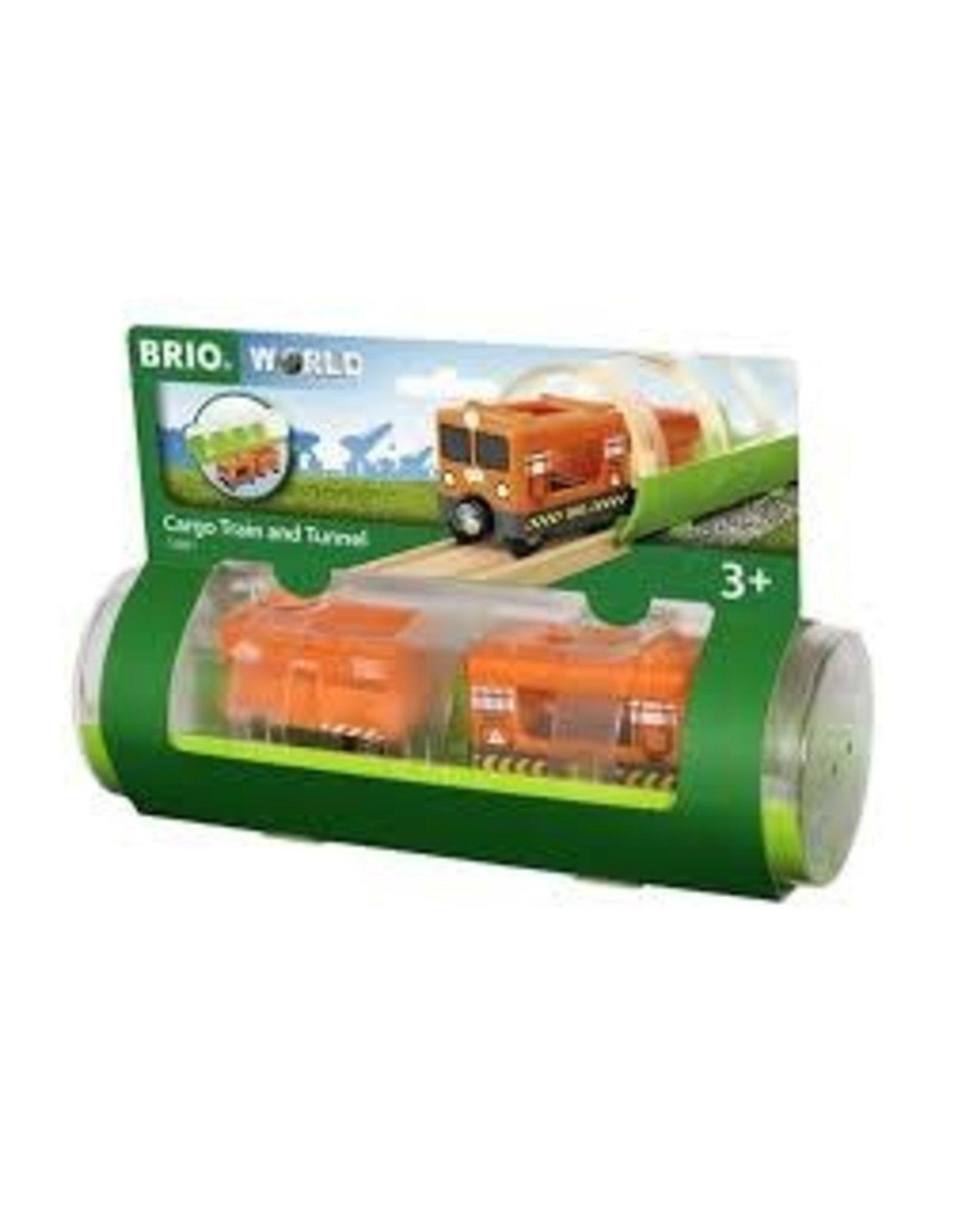 Brio Cargo Train and Tunnel