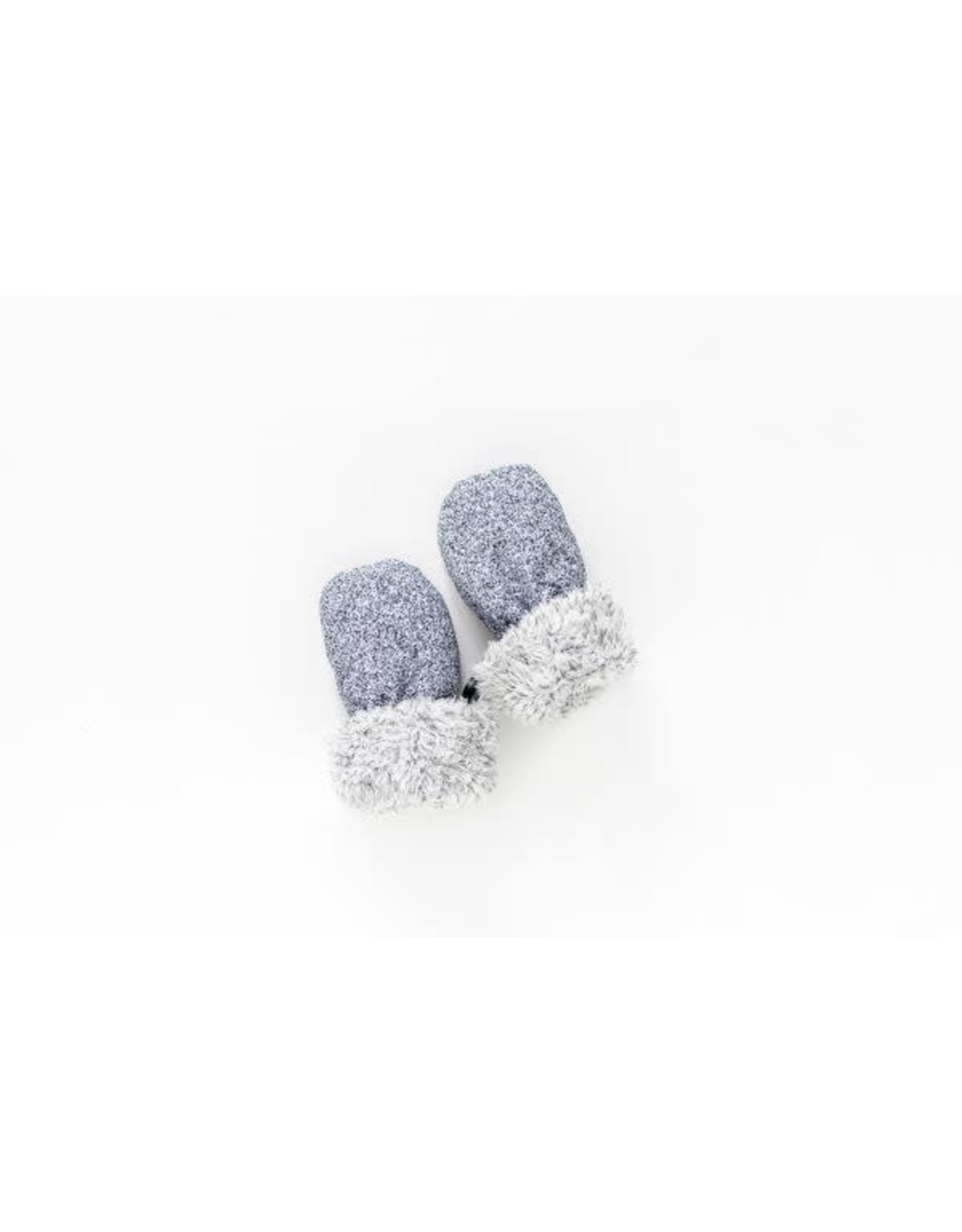 Juddlies Juddlies Winter Mitts Salt & Pepper Grey 0-6M