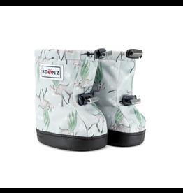 Stonz Stonz Booties, Magic Deer Green/Grey (Hidden Elastic)