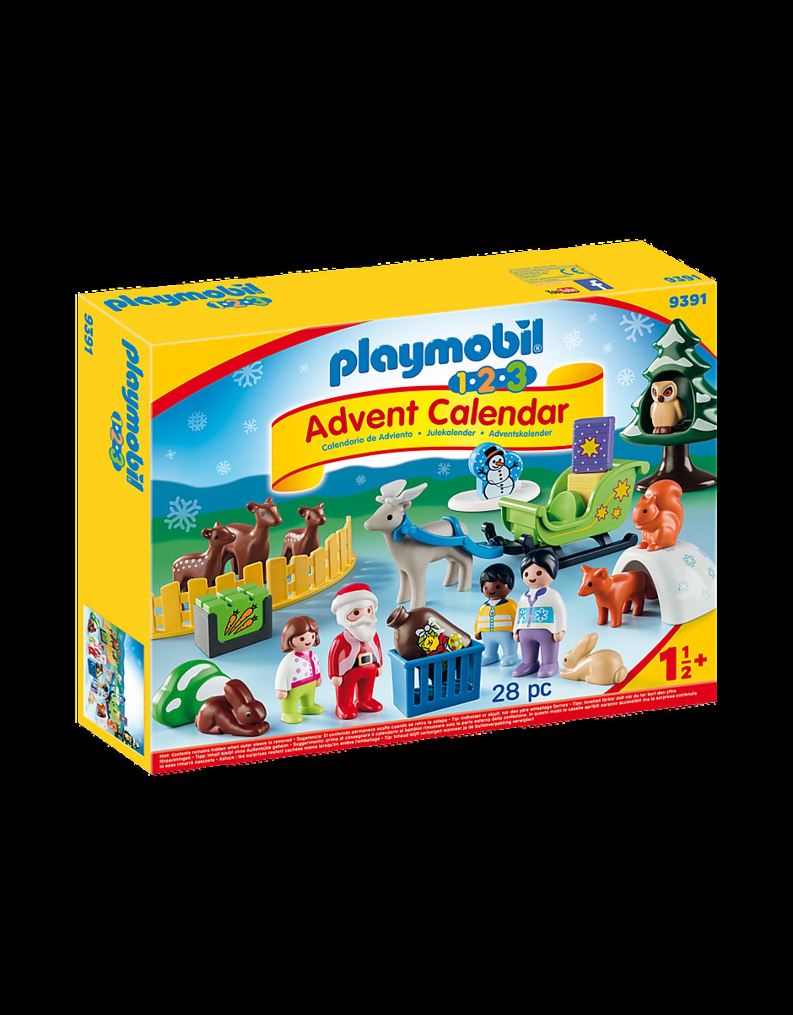 Playmobil 1.2.3 Advent Calendar, Christmas on the Farm