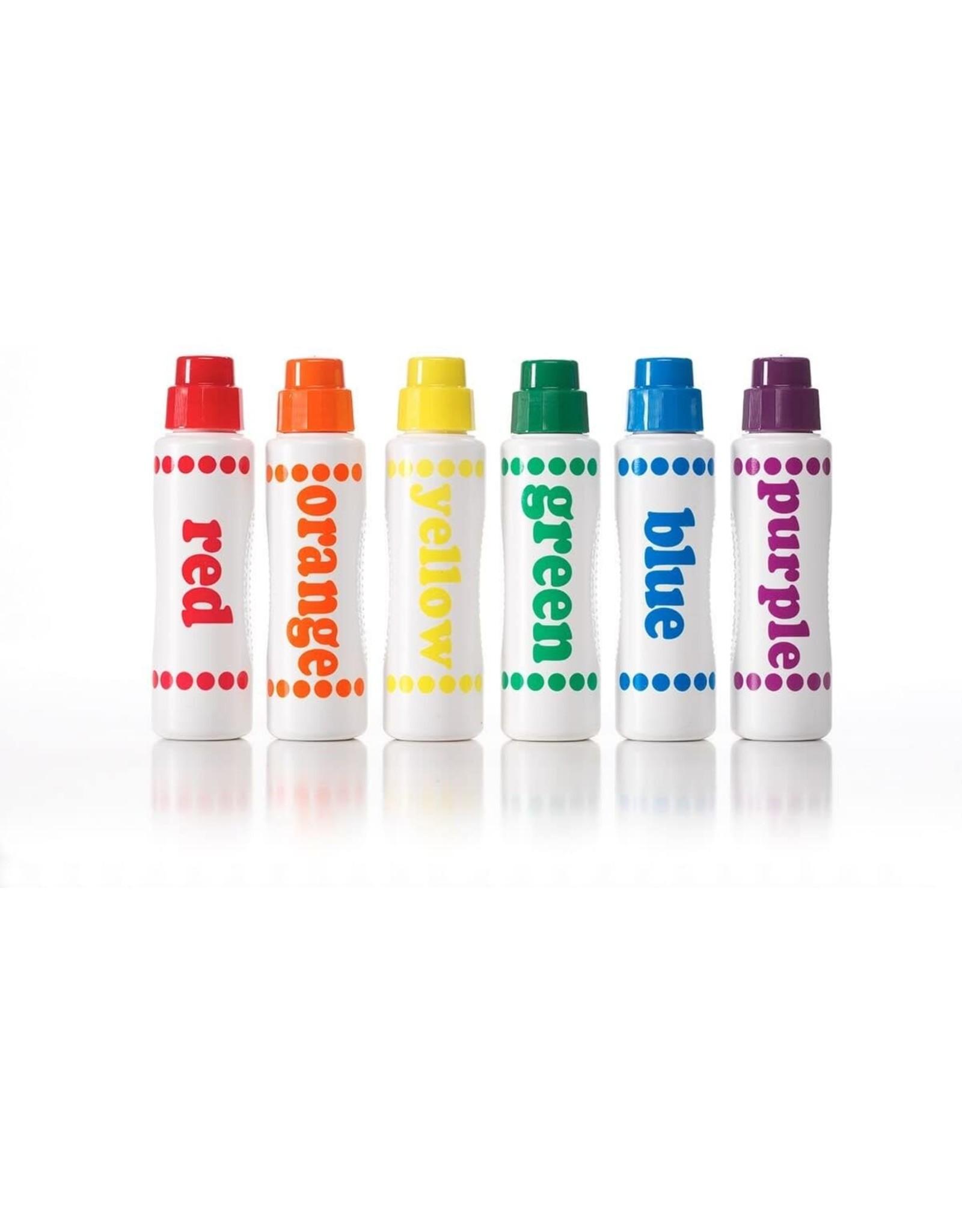 Playwell Rainbow Washable Dot Markers, 6 pk.