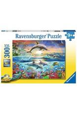 Ravensburger 300 pcs. Dolphin Paradise Puzzle