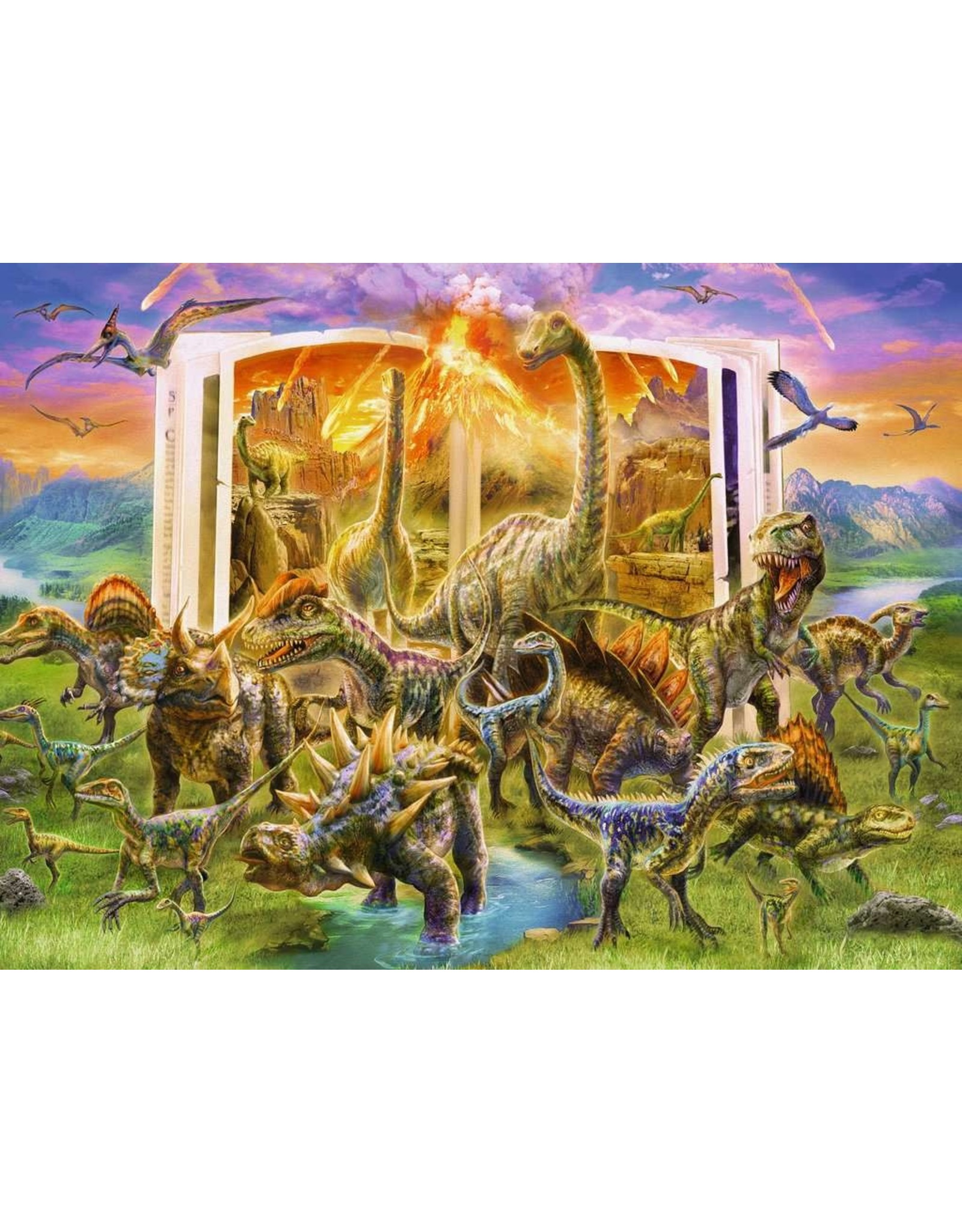 Ravensburger 300 pcs. Dinosaur Dictionary Puzzle
