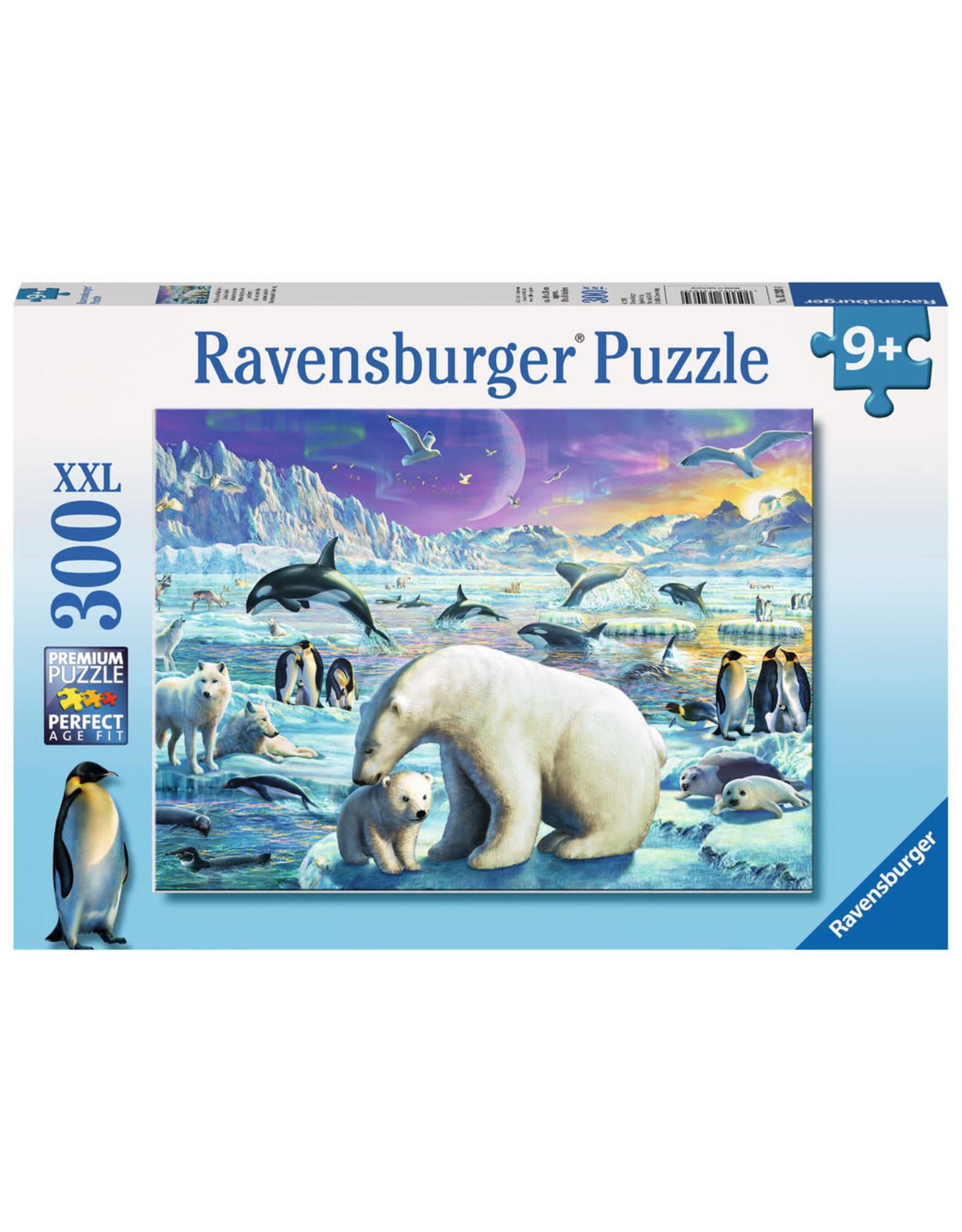 Ravensburger 300 pcs. Polar Animals Gathering Puzzle