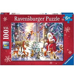Ravensburger 100 pcs. Christmas in the Forest Puzzle