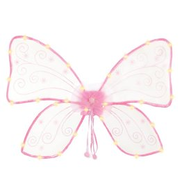 Great Pretenders Magical Light Up Wings, Hot Pink