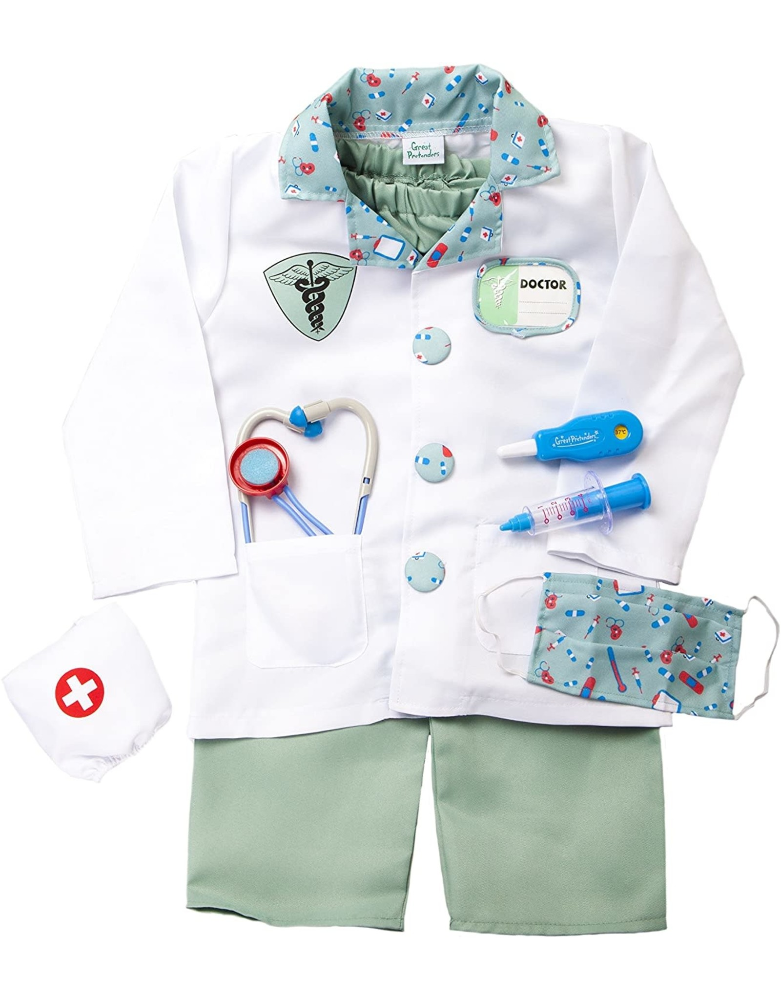 Great Pretenders Doctor with Accessories, 5-6