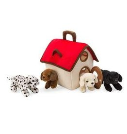 HearthSong On-the-Go Animal Play Set, Dogs