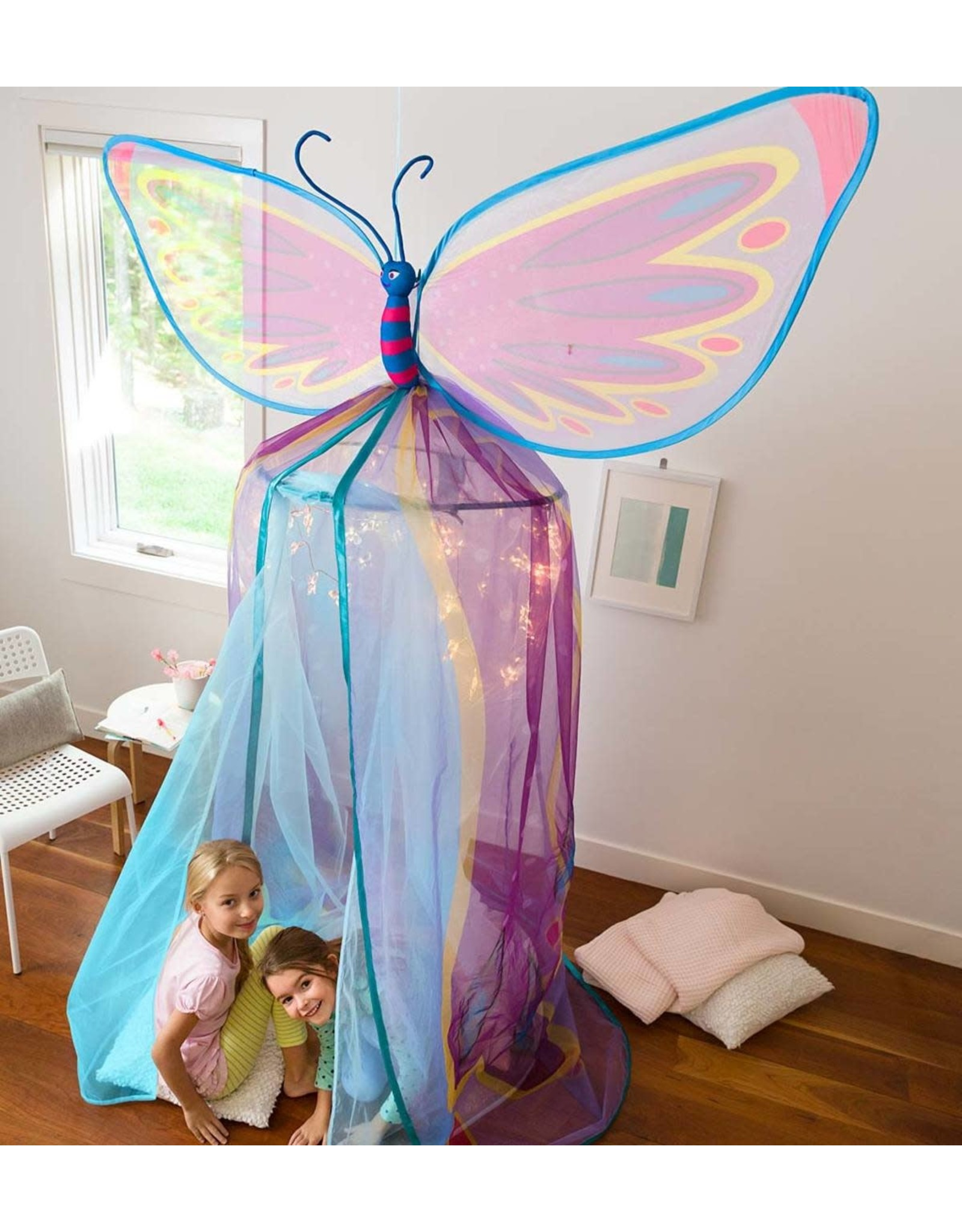 HearthSong Butterfly Bower Canopy Tent