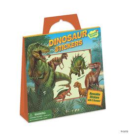 MindWare Dinosaur Reusable Sticker Tote