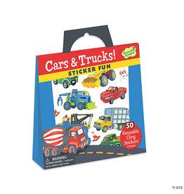 MindWare Cars & Trucks Reusable Sticker Tote