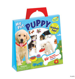 MindWare My Pet Puppy Reusable Sticker Tote