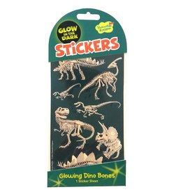 MindWare Dino Bones Glow in the Dark Stickers