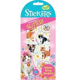 MindWare Kitty Glitter Stickers