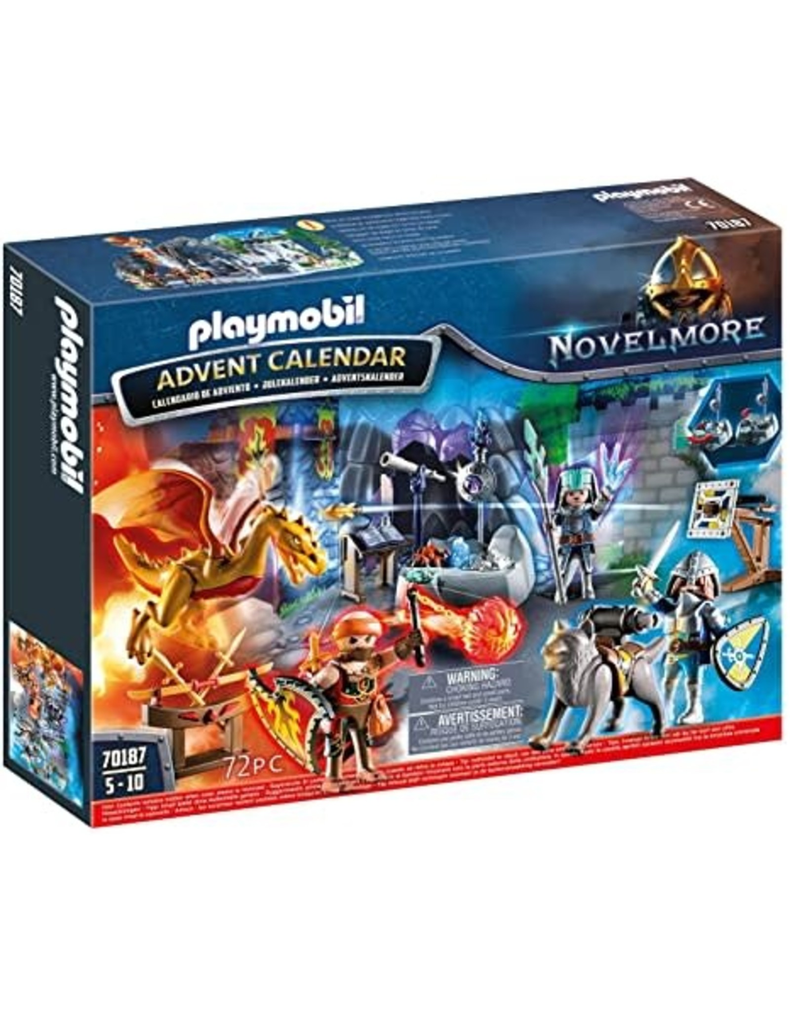 Playmobil Advent Calendar Battle for the Magic Stone