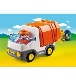Playmobil 1.2.3 Recycling Truck