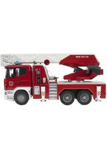Bruder Toys America Inc MAN TGA Fire Engine w/Ladder Water Pump amd Light/Sound Module