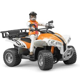 Bruder Toys America Inc Bruder ATV Orange