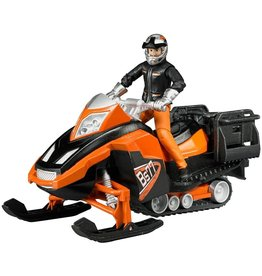 Bruder Toys America Inc Snowmobile w/Driver and Accessories