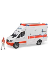 Bruder Toys America Inc MB Sprinter Ambulance with driver