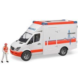 Bruder Toys America Inc MB Sprinter Ambulance w/Driver