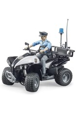 Bruder Toys America Inc Police Quad w/Officer and Access