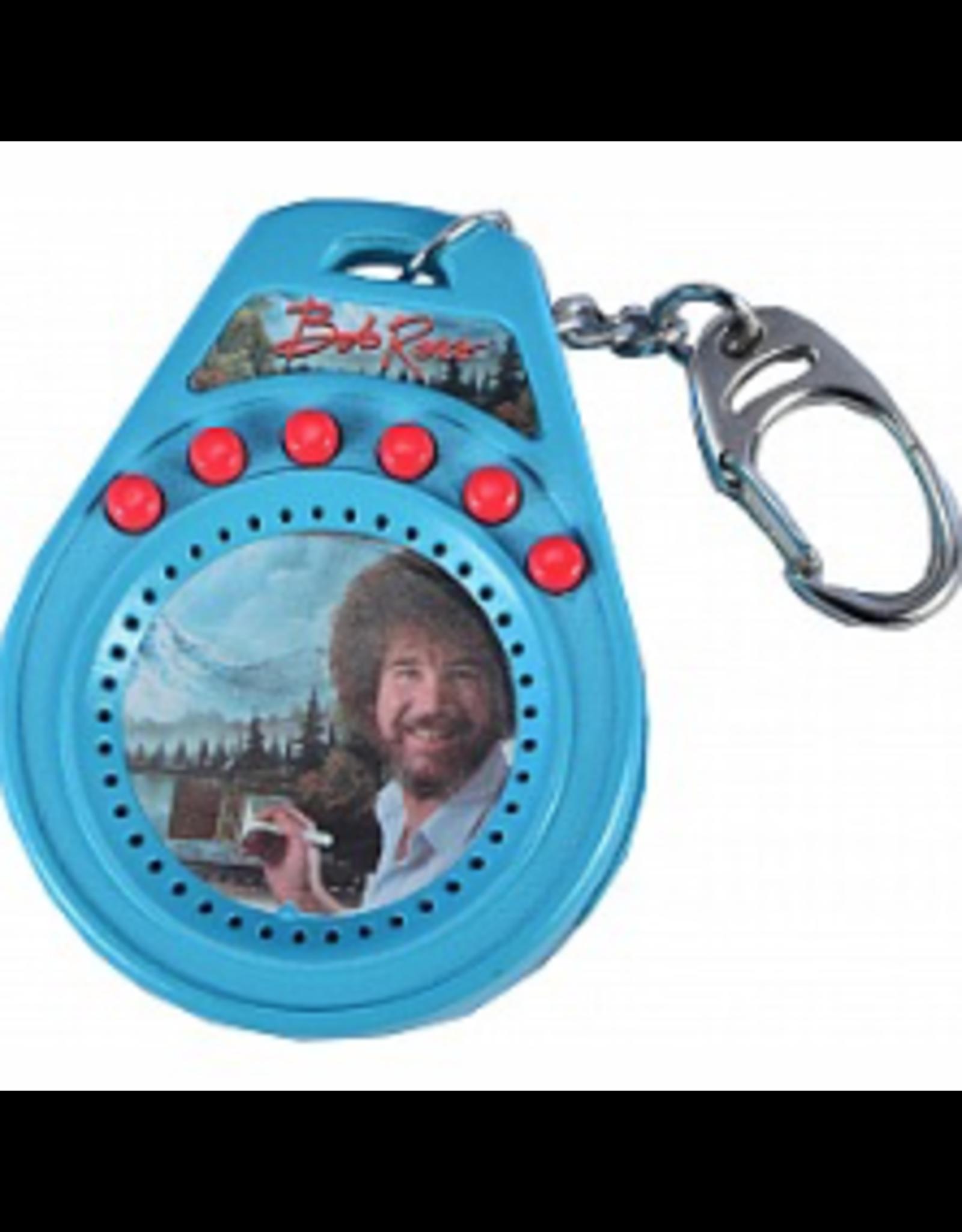Super Impulse World's Coolest Bob Ross Talking Keychain