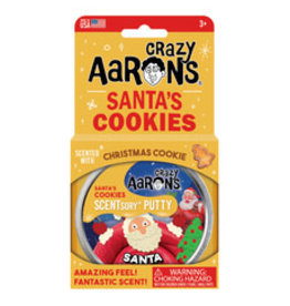 Crazy Aaron's Putty World Scented Santa's Cookie Putty
