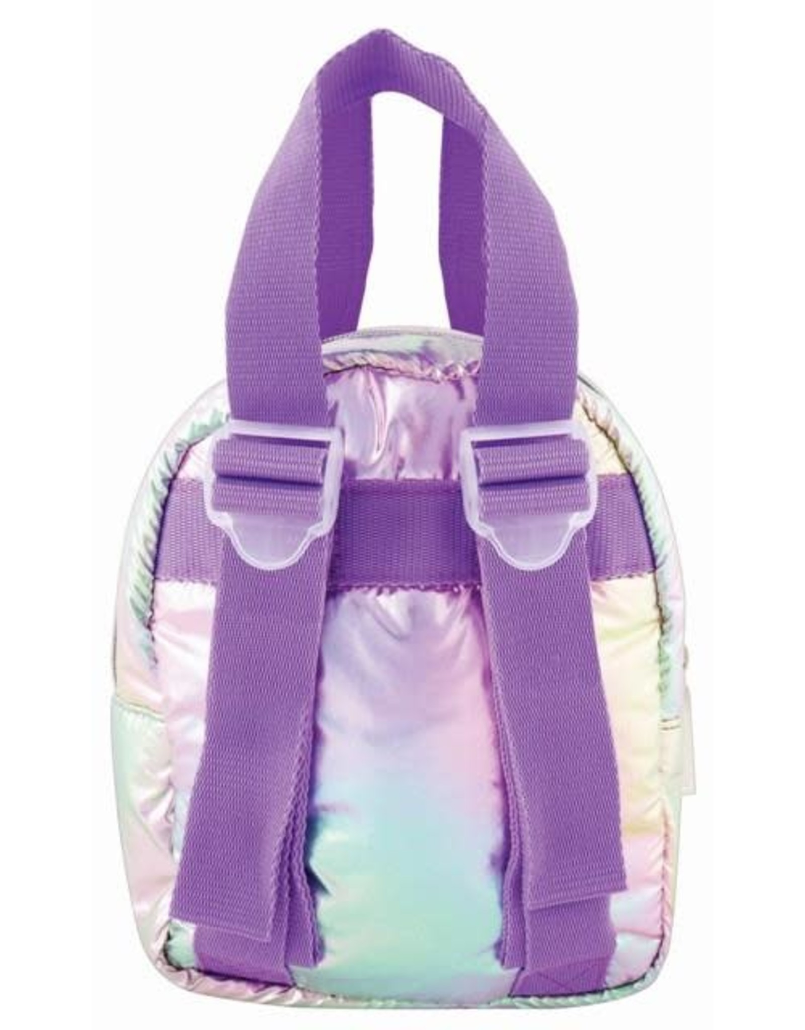 Fashion Angels Backpack Puffer Pastel Gradient