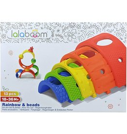Lalaboom Rainbow 5 Arches & 8 Pcs. Bloom Beads