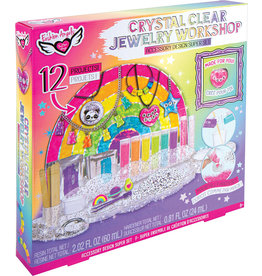 Fashion Angels Crystal Clear Jewelry Workshop Accessory Design Super Set
