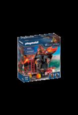 Playmobil Burnham Raiders Fire Ram