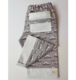 Georgi Pearson Quilty Pants, Light Grey Mountains