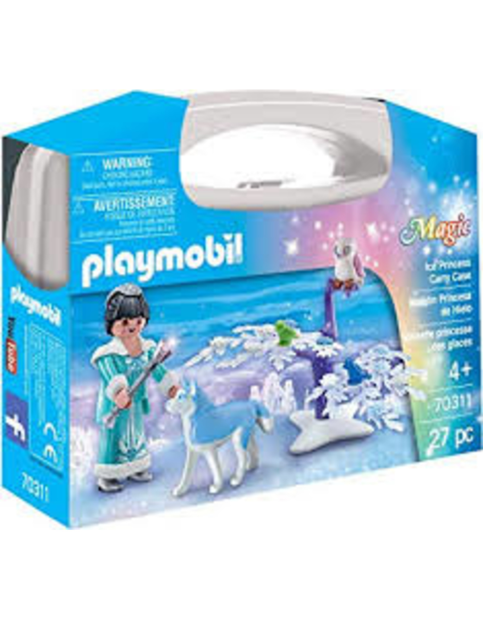 Playmobil Magic Ice Princess Carry Case