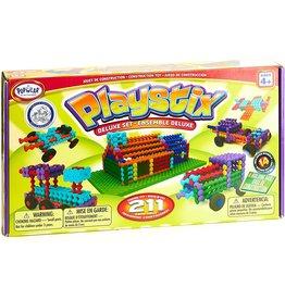 Fat Brain Toy Co. Playstix Deluxe Set 211 Pcs.