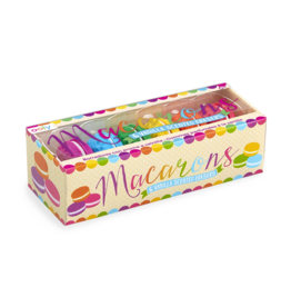 Ooly Macaron Scented Erasers, Set of 6