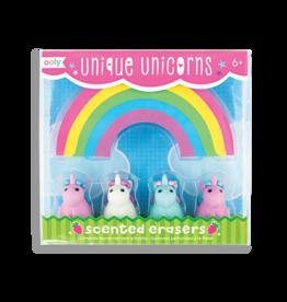 Ooly Unique Unicorns Scented Erasers, Set of 5