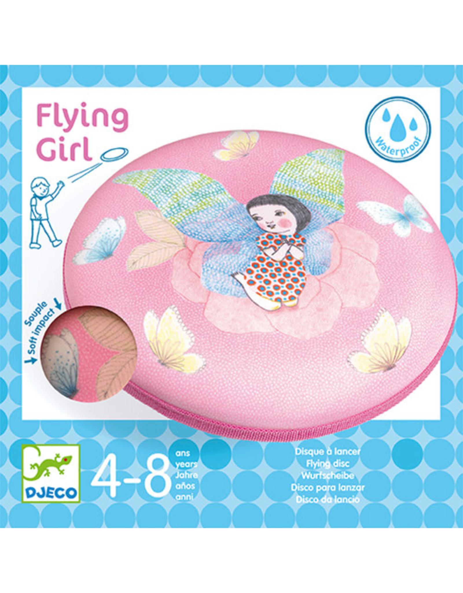 Djeco Flying Disc Flying Girl