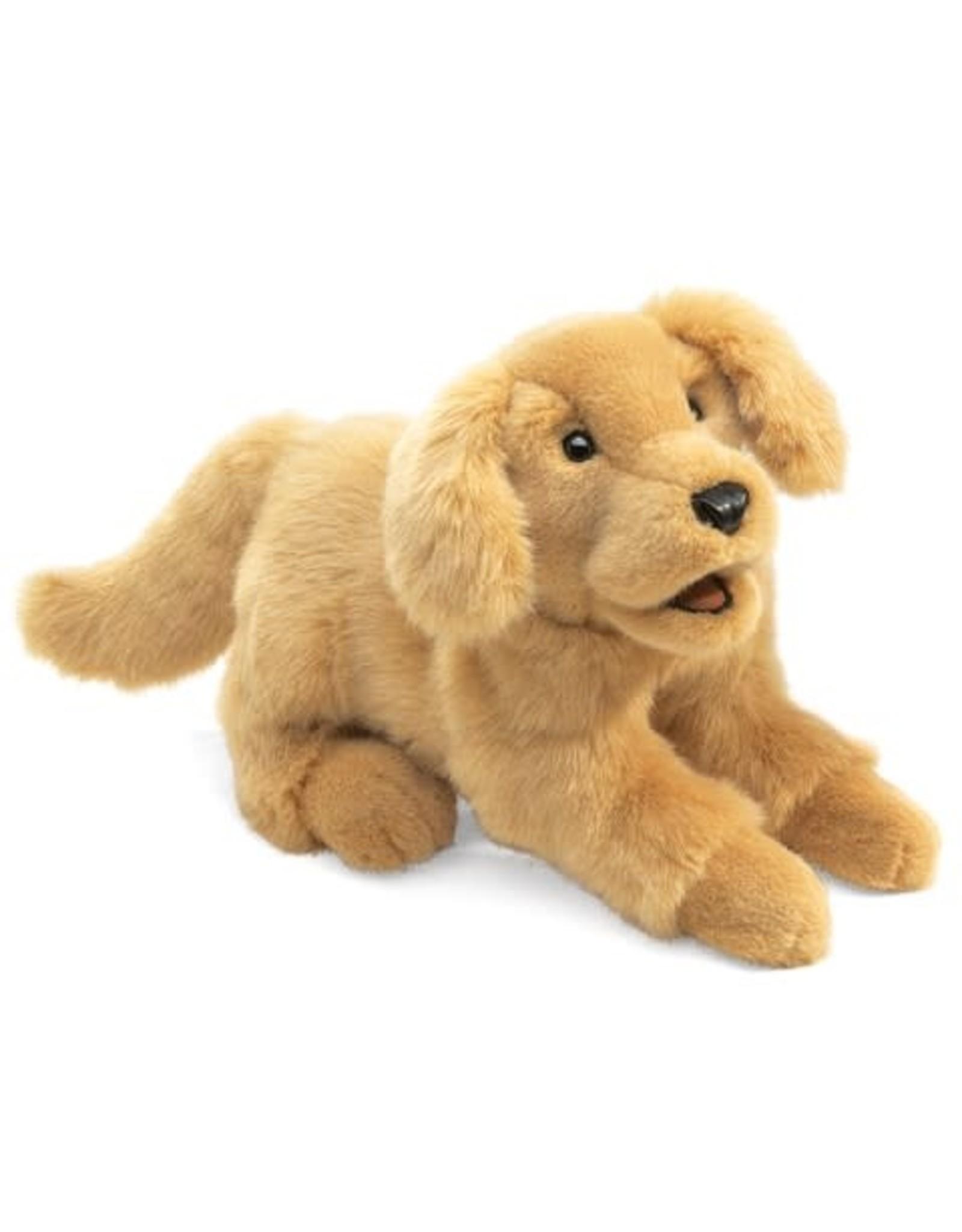 Folkmanis Golden Retriever Puppy Puppet